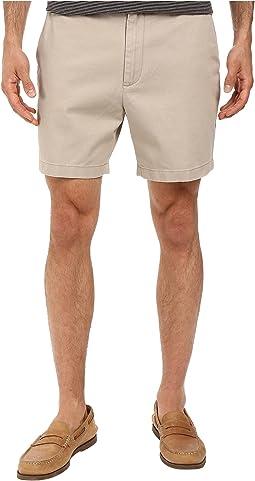 Nautica - Shorter Flat Front Shorts