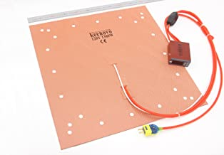 Keenovo Silicone Heater CR10 S5 3D Printer Heatbed Build Plate Heating Pad 20