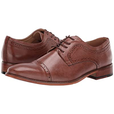 Kenneth Cole Unlisted Cheer Lace-Up (Cognac) Men