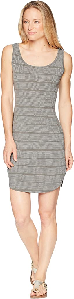 Yanni Merino Tank Dress Combed Lines