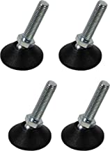 Gedotec Regelschroef M8 x 33 mm verstelschroef heavy duty stelschroeven voor tafelpoten en meubelpoten   verzinkt metaal  ...