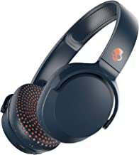 Skullcandy Riff Wireless On-Ear Headphones with Microphone, Bluetooth Wireless, Rapid Charge 10-Hour Battery Life, Foldable, Plush Ear Cushions with Durable Headband, Blue/Speckle/Sunset