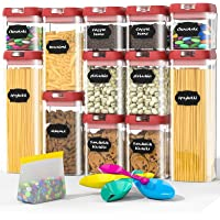 12-Pieces Double Villages Airtight Food Storage Containers Set