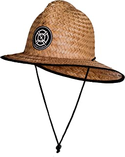 Saint Florian Clothing Straw Firefighter Hat- Large/XL 60cm