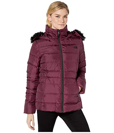 The North Face Gotham Jacket II (Deep Garnet Red) Women