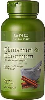Sponsored Ad - GNC Herbal Plus Cinnamon & Chromium, 60 Capsules, Supports Glucose Utilization