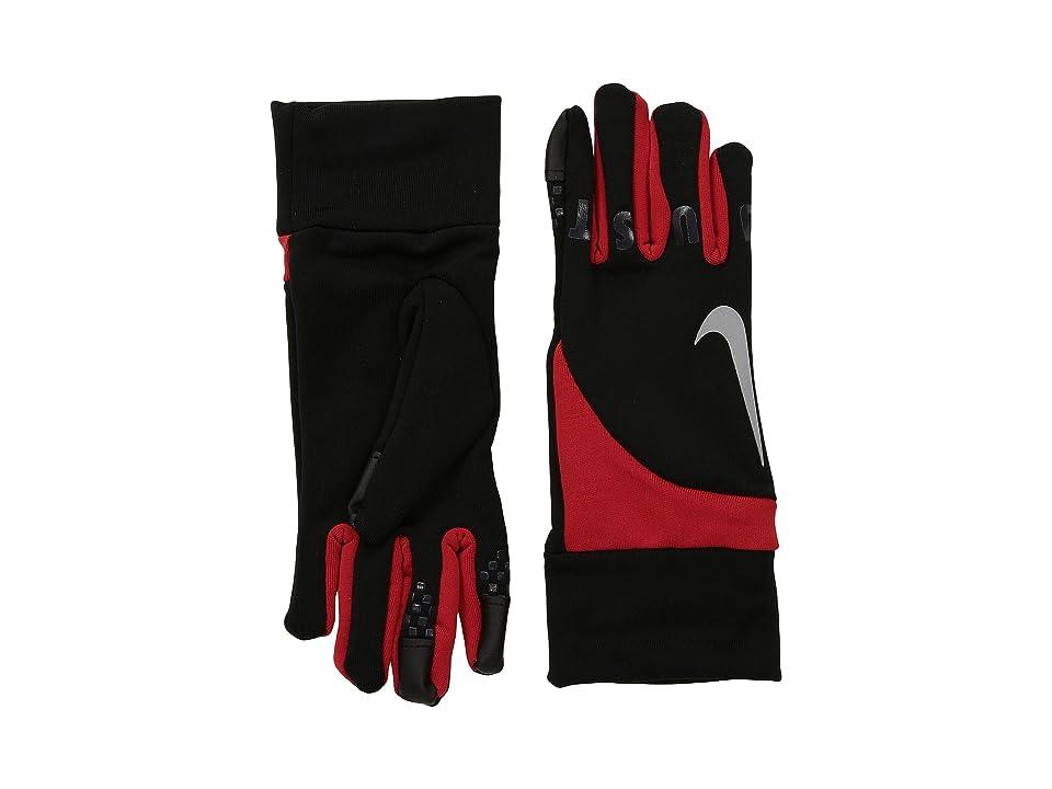 Nike Kids Gear Up Gloves Set (Little Kids) (Black/University Red) Extreme Cold Weather Gloves