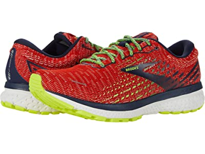 Brooks Ghost 13 (Tomato/Navy/Nightlife) Men