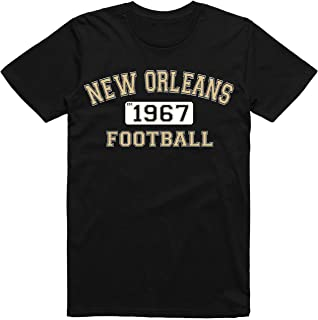 Classic New Orleans Football Team Est. 1967 Old Vintage Arch Style T-Shirt