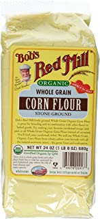 Bobs Red Mill, Flour Corn Organic, 24 Ounce