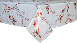 Lenox Chirp Print 60 by 102, Oblong/Rectangle, Multi