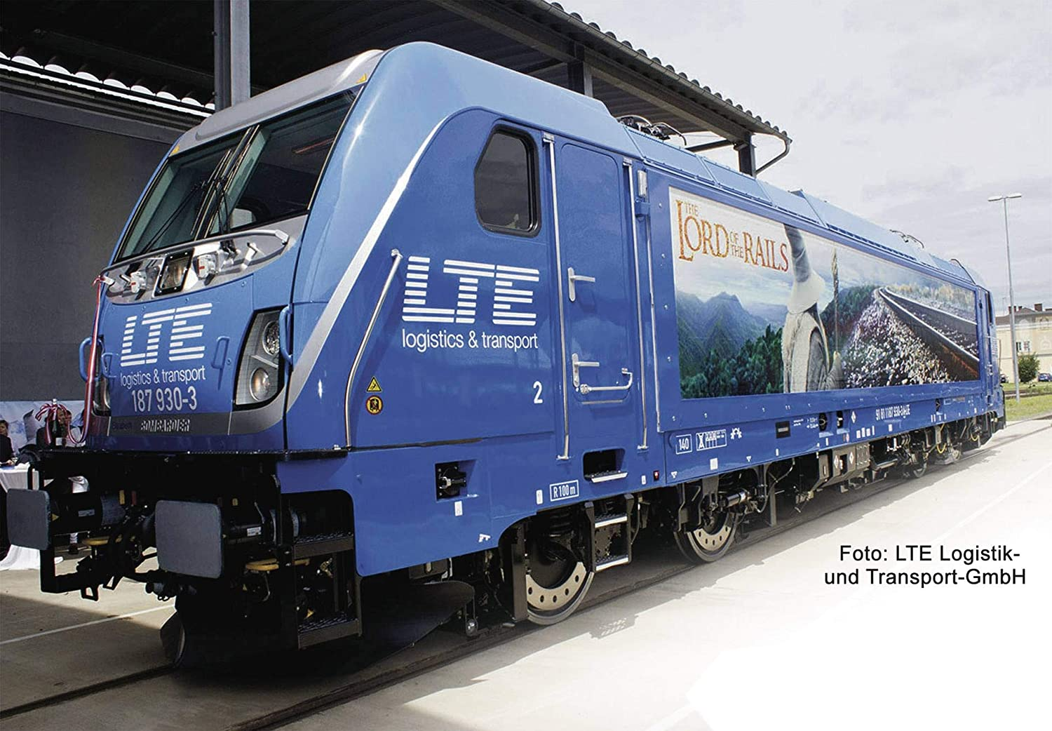 Fleischmann 738903 LTE BR187 Electric Locomotive VI