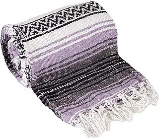 Best purple mexican blanket Reviews