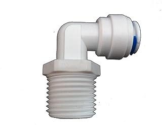 5pcs Push Fit adattatore del connettore filettato per tubo di Filtro Acqua Frigo Kit