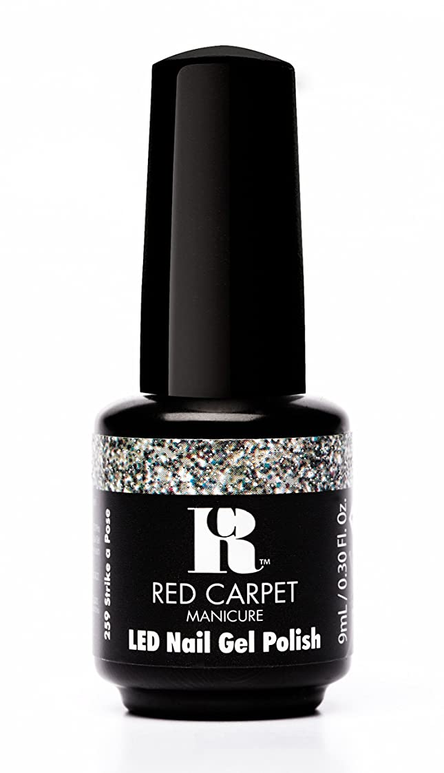 有用ふざけたまでRed Carpet Manicure - LED Nail Gel Polish - Trendz - Strike A Pose - 0.3oz / 9ml