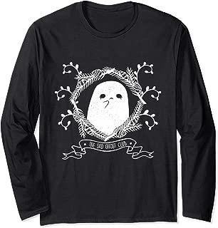 Sad Ghost Club Emo Goth Cute Wiccan Gift design Long Sleeve T-Shirt