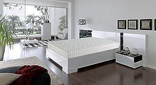 comprar comparacion Dormio Ortopédico - Colchón de Eliocel, Blanco, 135 x 190 cm, altura 21 cm