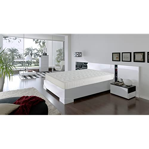 Dormio Ortopédico - Colchón de Eliocel, Blanco, 90 x 190 cm, altura 21 cm