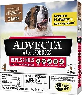 Advecta Ultra Flea & Tick Topical Treatment, Flea & Tick Control for Dogs,
