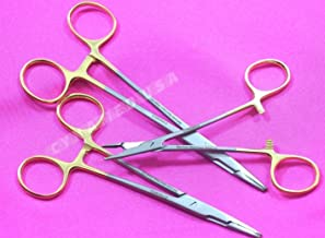 New Set of 3 Premium German T/C Olsen HEGAR Needle Holder 5 Inches Plus 5.5 Inches Plus 6 Inches with Tungsten Carbide Inserts Surgical Dental Veterinary Instrument