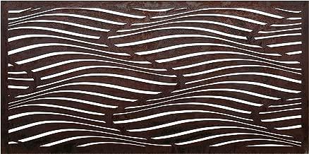 Be Metal Be Natural Screens Desert Dunes Laser Cut Decorative Steel Privacy Screen/Panel