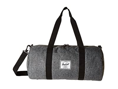 Herschel Supply Co. Sutton Mid-Volume (Raven Crosshatch/Black) Duffel Bags