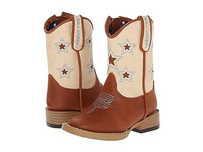 M&F Western Kids Lone Star (Toddler) (Brown) Cowboy Boots