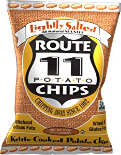 Route 11 Potato Chips : Lightly Salted (12 bags (6 oz each))