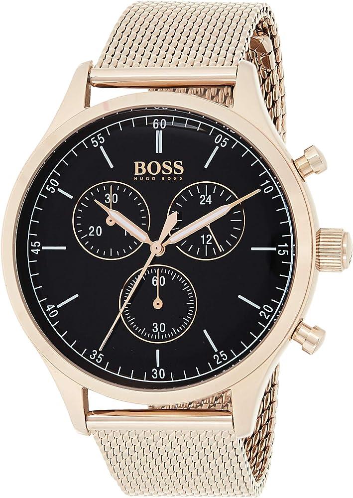 Hugo boss orologio cronografo Da Uomo in acciaio inossidabile 1513548