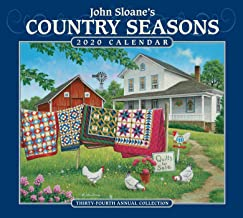John Sloane's Country Seasons 2020 Deluxe Wall Calendar