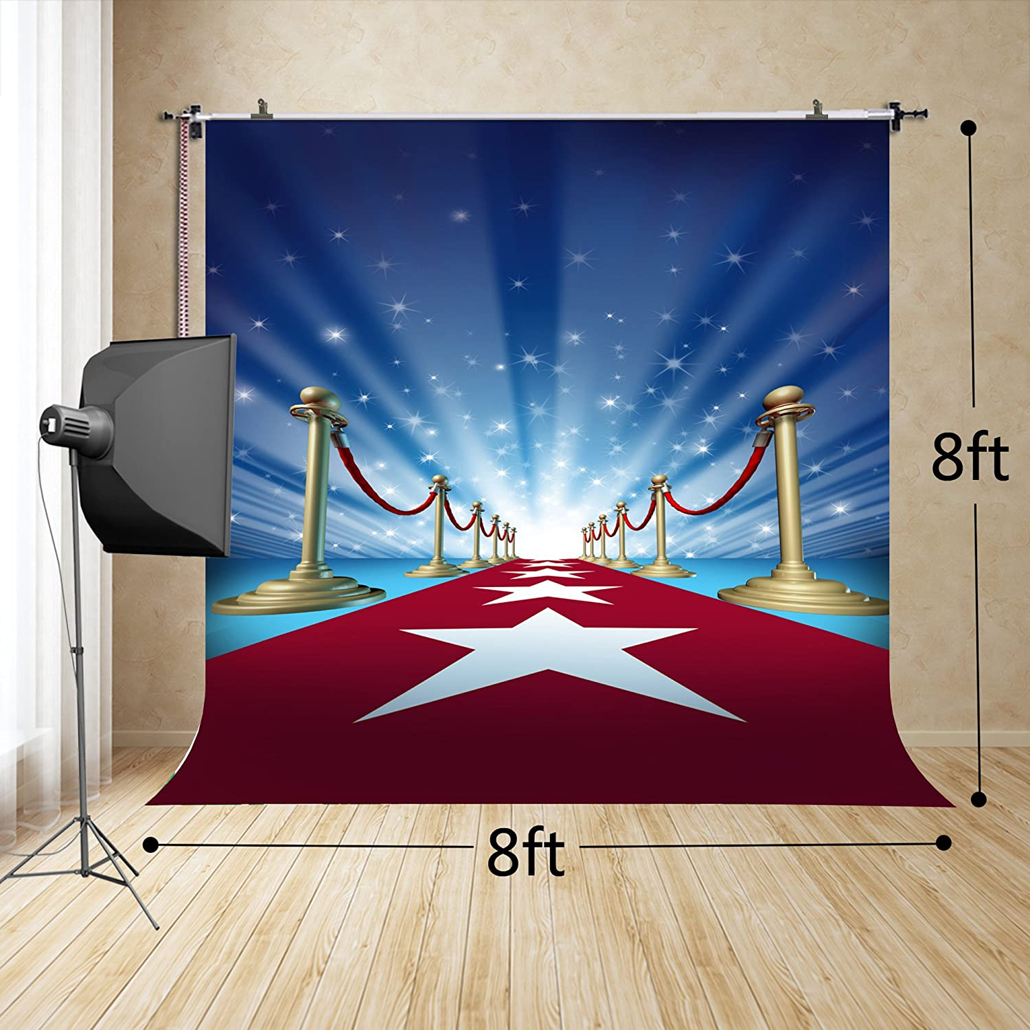 250x250cm Soccer cosplay photography props brilliant football field photography background FT-3543 FiVan-Us 8x8ft