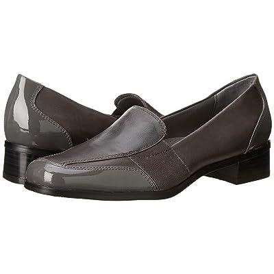 Trotters Arianna (Dark Grey Patent Leather/Burnished Soft Kid) Women