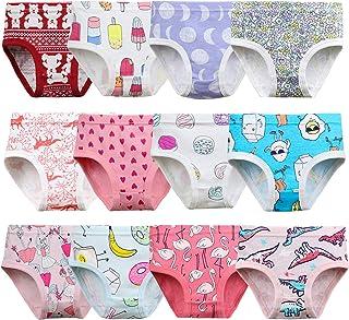 Zebricolo, Bragas niña, Bragas niña 2 años, algodón, Bragas niña 3 años, Muy Suave, Bragas niña 6 años, Cute Pattern Anima...
