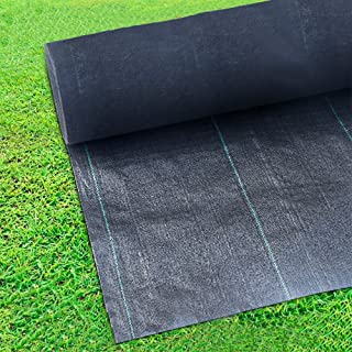 OriginA 4Oz Needle-Punched Compound Weed Barrier Fabric for Raised Bed,Durable & Heavy-Duty Weed Block Gardening Mat Superior,3x100ft