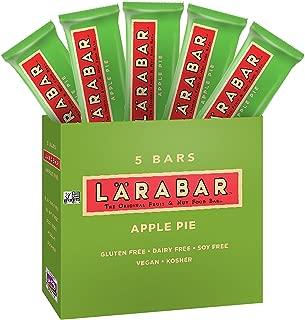Larabar, Gluten Free Bar, Apple Pie, Vegan (5 Bars)