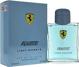 Ferrari Scuderia Light Essence Eau de Toilette Spray for Men, 4.2 Ounce