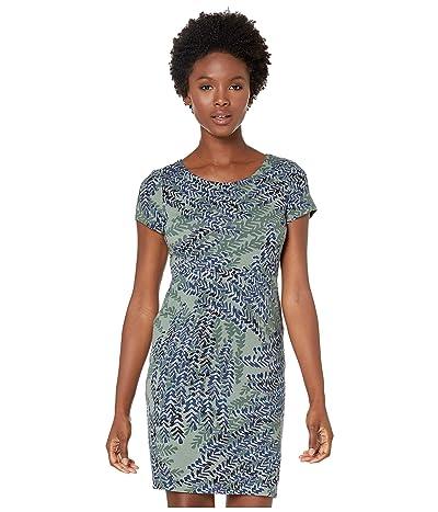 NIC+ZOE Petite Leaf Direction Dress (Multi) Women