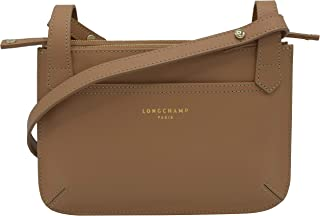 longchamp crossbody nylon tan bag