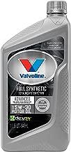 Valvoline  Advanced Full Synthetic SAE 5W-30 Motor Oil 1 QT