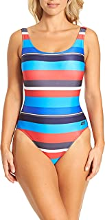 Zoggs Women's Pop Block Scoopback Eco Fabric One Piece Swimsuit