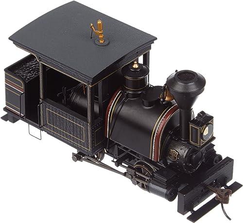 On30 Spectrum 0-4-2 w DCC, schwarz & Maroon by Bachmann Trains