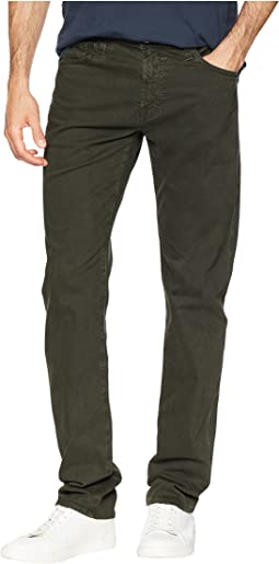 Tellis Modern Slim Leg Sud Pants in Sulfur Oak Grove