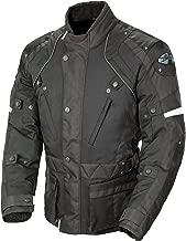 Joe Rocket Ballistic Revolution Men's Textile Riding Jacket (Black, Large)