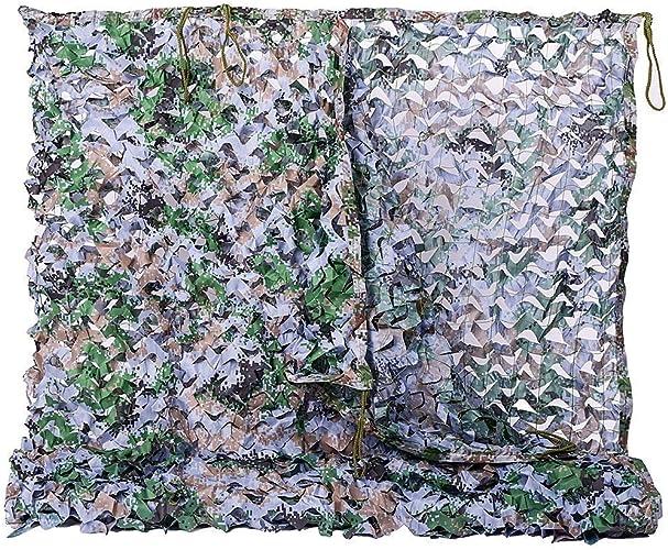 Filet de camouflage parasol multi-usage Mode de la forêt en plein air Camping Camping Photographie Camouflage Parasol Léger Durable Décoration Multi-taille En option (Taille  4  4m) Bache AI LI WEI