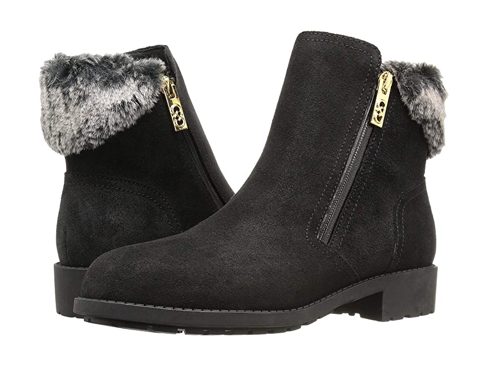 Cole Haan Quinney WP Bootie (Black WP Suede/Shearling) Women