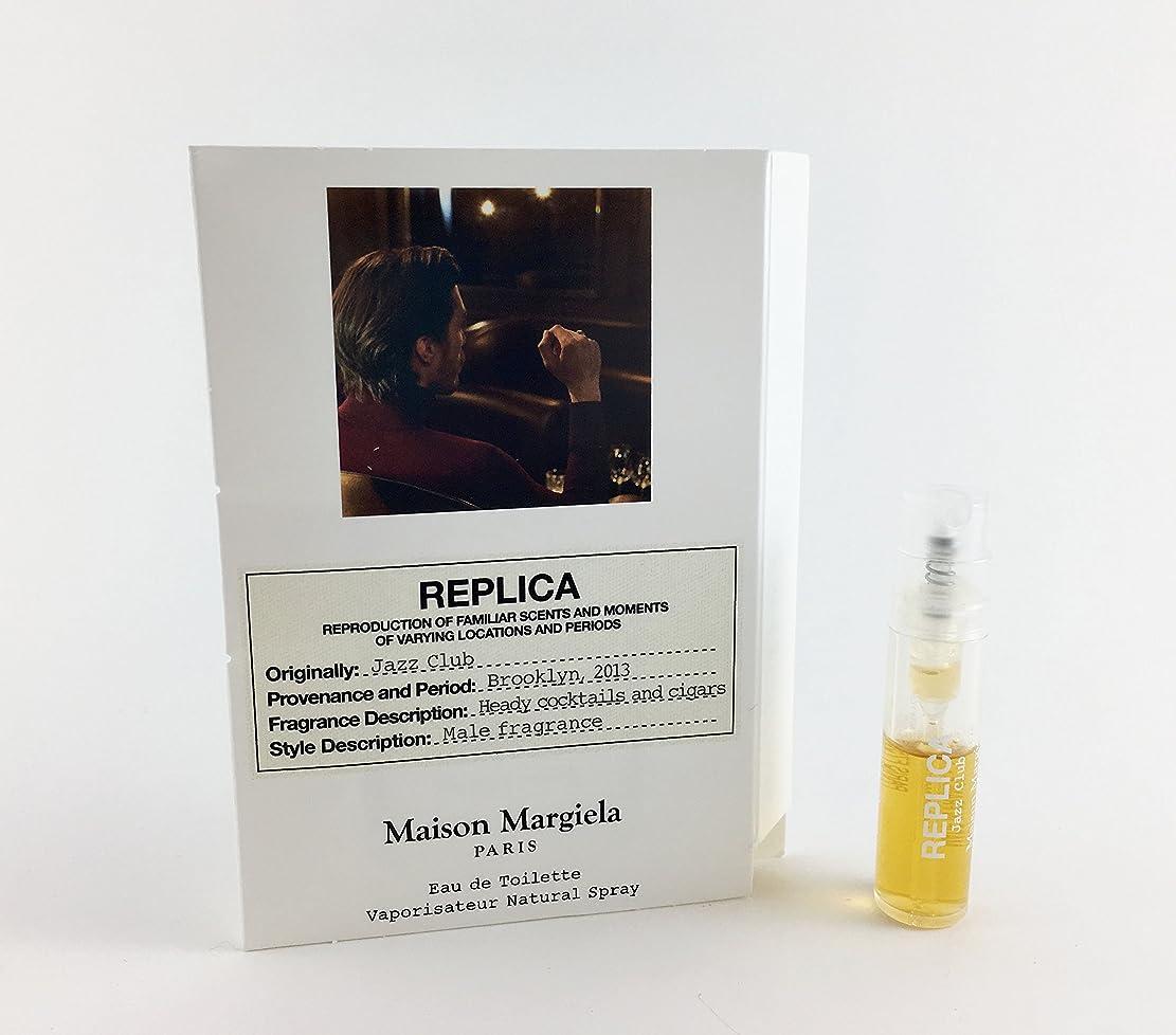 純粋に寸法犠牲Replica - Jazz Club (レプリカ - ジャズ クラブ) 0.05 oz (1.5ml) Fragrance Sample (メーカーサンプル) for Men