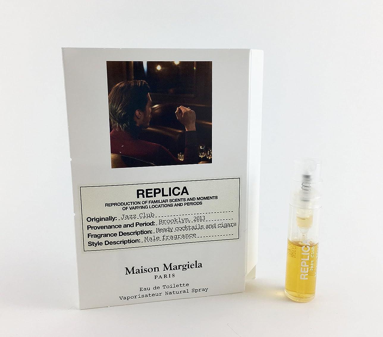 荷物遊びます神経衰弱Replica - Jazz Club (レプリカ - ジャズ クラブ) 0.05 oz (1.5ml) Fragrance Sample (メーカーサンプル) for Men