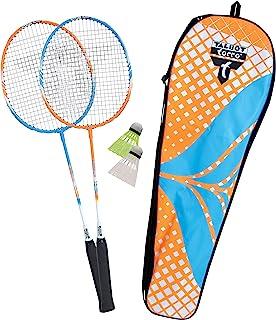 Talbot Torro 449402 Set de Badminton 2-Attacker, 2 Raquetas