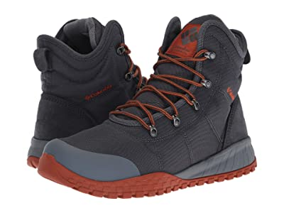 Columbia Fairbanks Omni-Heat (Graphite/Dark Adobe) Men