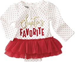 Mud Pie - Santas Favorite Tutu Crawler (Infant)